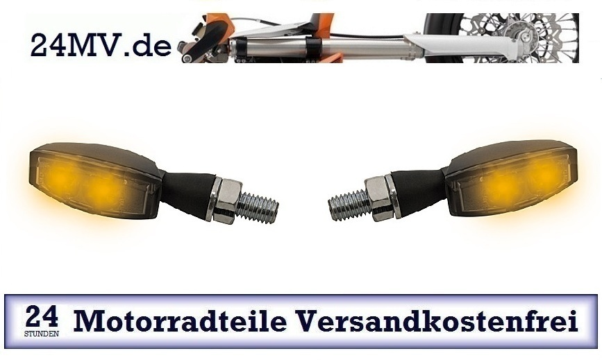 1 Paar HIGHSIDER LED Blinker BLAZE schwarz